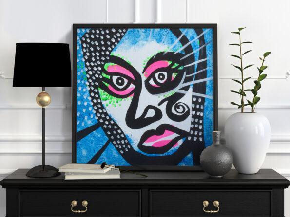 Kabuki Blue