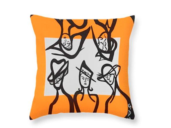 Ce-Chapeau-et-Fantastique! Pillow