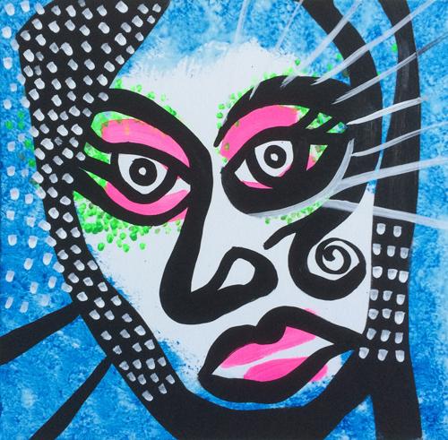 Kabuki-Blue